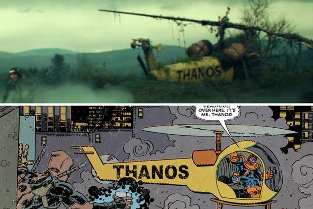 Loki: Thanos já teve um helicóptero! - MARVEL UCM